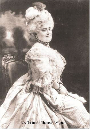 As Philine in Thomas'